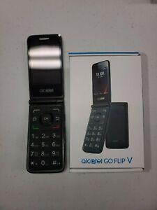 "Alcatel- Go Flip V - 4G LTE - Black (Verizon) Basic 4G Flip Phone ""Big Numbers"""