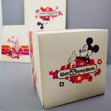 Vintage 1986 Walt Disney World Retro Gift Box Retro Epcot Magic Kingdom Mickey
