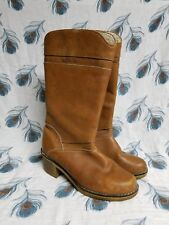 Blondo vintage knee high tan lined boot 7-38