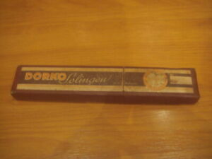 vintage dorko straight razor -  used condition