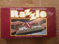 Razzle - Race For The Word Game Parker Brothers Vintage Board Game 1981 Complete