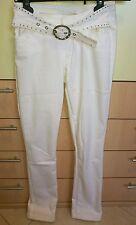 Liu Jo pantalone jeans donna bianco tg. 26