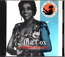 IDA COX: I Can't Quit My Man - The Best of All-star Band/Orchestra BLUES-JAZZ CD