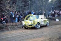 Photo Jenny Birrell Alexa Davidsin Simca Rallye 1973 Daily Mirror RAC Rally