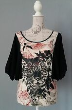 SMASH Tunika Shirt Top Bluse Gr. M  Hingucker  , spanish Design toller Schnitt