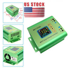 24v/36v/48v/60v/72V LCD MPPT 7210A Solar Regulator Charge Controller DC-DC Boost