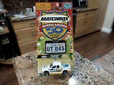 "2001 MATCHBOX UTAH "" FORD EXPLORER SPORT TRAC "" ( ACROSS AMERICA ) STATES TAGS"