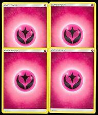 Pokemon BASIC FAIRY ENERGY - Sun & Moon - - MINT 4X