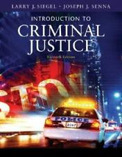 Available Titles CengageNOW: Introduction to Criminal Justice by Joseph J. Senna