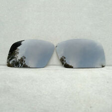 Black Replacement Lenses for-Oakley Eyepatch 2 Sunglasses Polarized