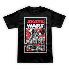 Placa de las guerras de las Skate jinete mashup DTG para hombre T Shirt Tees