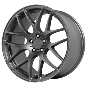 "Verde V44 Empire 18x9.5 5x112 +36mm Grey Wheel Rim 18"" Inch"