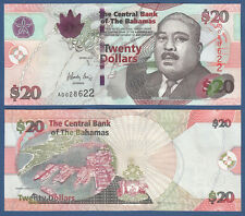 BAHAMAS 20 Dollars 2010  UNC  P. 74A