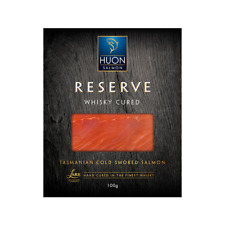 Huon Reserve Whisky Cured Smoked Salmon