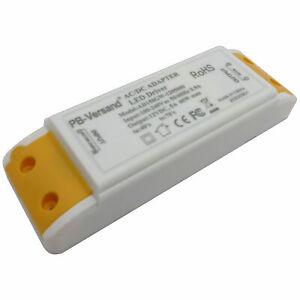 LED Trafo 12V DC 60 Watt flachTransformator Driver Netzteil kompakt universal