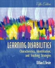 Learning Disabilities : Characteristics, Identification, and Teaching Strategies