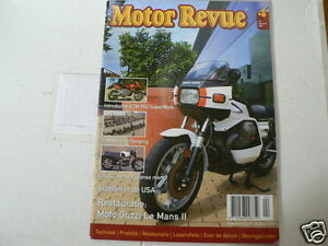 MOTOR REVUE 2005-04 POSTER NORTON MANX,GUZZI LE MANS II,LILAC LS,YAMAHA V-MAX,