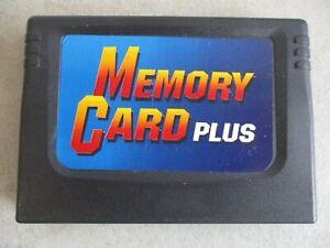 SEGA SATURN MEMORY CARD PLUS CARTRIDGE AS IS UNTESTED