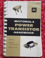 Motorola Power Transistor HandBook  dated 1961 First Edition 4th Printing