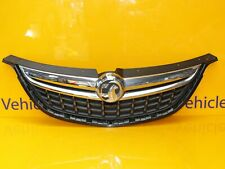 VAUXHALL OPEL ZAFIRA TOURER 2011-2016 FRONT BUMPER GRILL GRILLE + BADGE 13300698