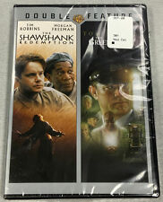 The Shawshank Redemption + The Green Mile New / Sealed 2 Dvd Double Feature🔥