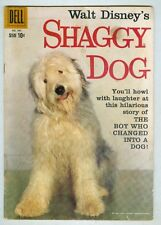 Four Color #985 VG 1959 Shaggy Dog photo cover, Annette back cover