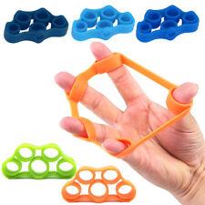 6Pcs Finger Stretcher Hand Exerciser Grip Strength Exercise Finger Trainer AU
