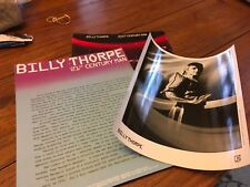 Billy Thorpe 21st Century Man Promo Press Kit 1980 Photo, Bio, Folder