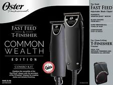 Oster Professional Common Wealth Edition Fast Feed Clipper + T-Finisher Trimmer