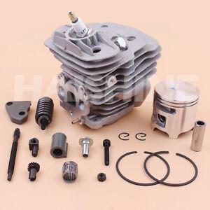 51mm Cylinder Piston Kit For Husqvarna 575 575XP 570 Chainsaw Adjuster 537254102