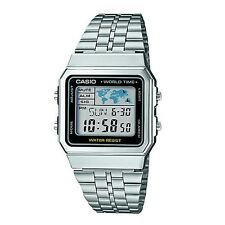 Casio Collection Retro Digital Mens World Time Watch A500WEA-1EF