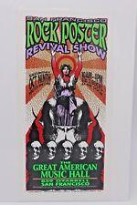 San Francisco Rock Poster Revival Show 1999 M. Arminski Handbill Flyer