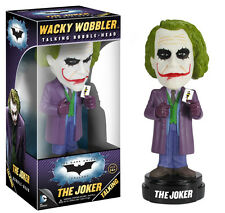 FUNKO DC BATMAN DARK KNIGHT TRILOGY JOKER TALKING WACKY WOBBLER BOBBLE HEAD NEW