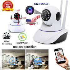 Wireless Wifi IP Pan Camera 1.0MP Home Security Network Monitor HD Night Vision