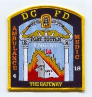 District of Columbia Fire Department DCFD Engine 14 Patch Washington DC