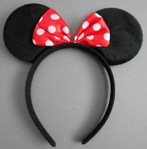 Minnie mouse ears / bunny / devil horns hairband fancy dress party hen night