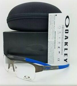NEW Oakley Crosslink 0.5 RX Prescription Frame Pewter OX3226-0255 AUTENTIC 3226