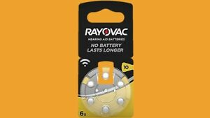 36 X Rayovac Acoustic Special Type 10 1,45 V PR70 Blister Hearing Aid Batteries