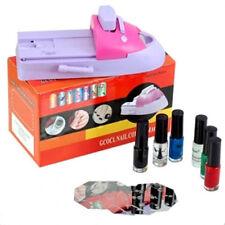 Nail Art Acrylic UV Printing Machine MANICURE Stamping DIY Beauty Professional