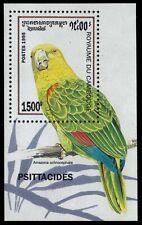 "CAMBODIA 1442 - Yellow-crowned Amazon Parrot ""Amazona ochrocephala"" (pf25062)"