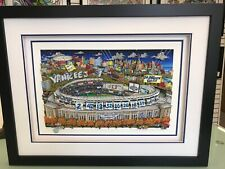 """Charles Fazzino """" In New York Yankees are What Dreams are Made Of """"  3D Artwork"""
