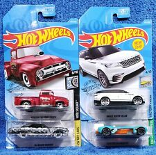 2019 Hot Wheels Kroger Exclusive Set X4 Riviera, Electro Silhouette, Velar, Ford