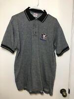 Sz M University Of Washington Polo Shirt Huskies True Fan Apparel VTG