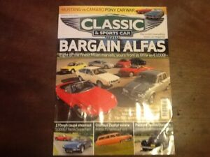 CLASSIC & SPORTS CAR MAGAZINE-ENTIRE COLLECTION 1982 1st. EDITION to 2013=32 YRS