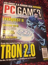 Pc Gamer Magazine June 2002 (Everquest 2 Issue)