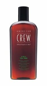 American Crew 3 in 1 Tea Tree Shampoo - 450ml - CHEAP!!!