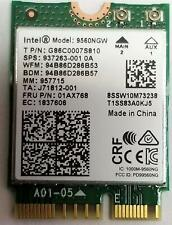 Wireless AC 9560 Intel 9560NGW 802.11ac NGFF 2.4G/5G WiFi Bluetooth FRU 01AX768