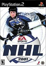 NHL 2001 (Sony PlayStation 2, 2000) COMPLETE GAME BOX AND MANUAL NES HQ