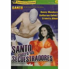 Santo Contra Los Secuestradores DVD NEW El Enmascarado De Plata Factory Sealed!