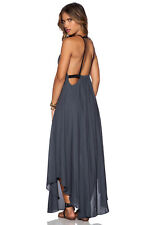 NWT FREE PEOPLE Caught In The Moment Dress in Charcoal $148 - 8